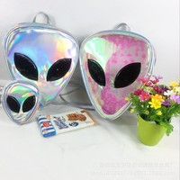 Harajuku Alien Holographic Bag