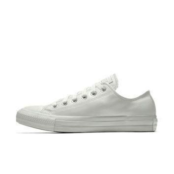 LMFON the converse custom chuck taylor all star leather low top shoe