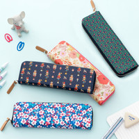 Ardium Pattern handy zipper pencil case