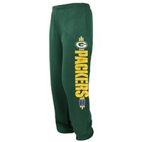 Green Bay Packers Victory VI Fleece Pants - Green