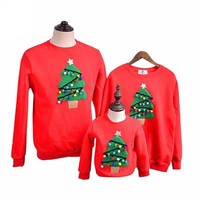 Family Matching Outfits Christmas Sweater-Warm Family Clothe