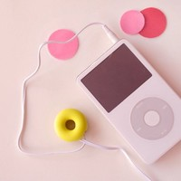 INFMETRY:: Doughnut Style Earphone Winder - Electronics