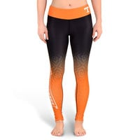 Tennessee Vols Womens Official NCAA Gradient Print Leggings