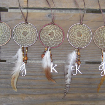 Party/Wedding Favor Personalized Dream Catchers