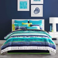 J by J. Queen New York Cordoba Comforter Set in Teal