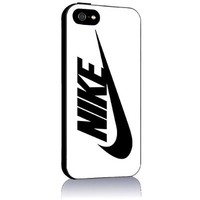 Nike Logo for Iphone 4 4s 5 5c 6 6plus Case (iphone 5 black)