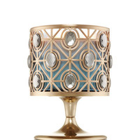 GLITTERY GEMS3-Wick Candle Pedestal Sleeve