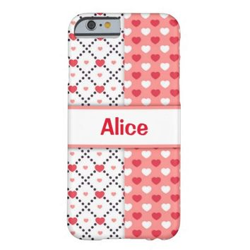 Valentine's Day Barely There iPhone 6 Case