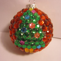 Rhinestone Christmas Tree Ornament