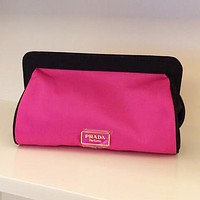 PRADA Popular Women Shopping Bag Cosmetic Bag Handbag I12391-1