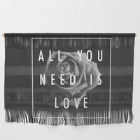 Needy Wall Hanging by duckyb