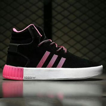 Adidas tubular invader strap Fashion Men Running Sport Casual High Top Shoes Sneakers G-A0-HXYDXPF-1