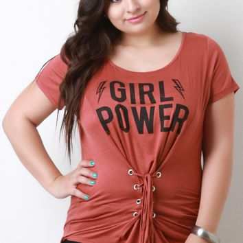 Corset Girl Power Top