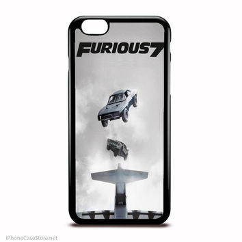 Fast And Furious 7 Cars Jumping And Flying Case For Iphone Case