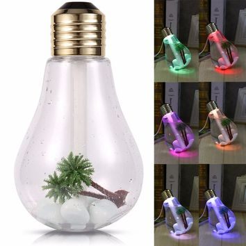 Aromatherapy Essential Oil Diffuser Tropical USB Light