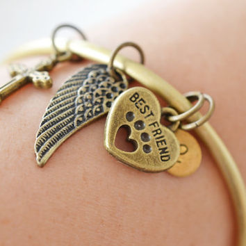 Personalized Bracelet Memorial Pet Remembrance Gradu