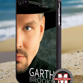 Garth Brooks Country Music - iPhone 4/4s/5 Case - Samsung Galaxy S3/S4 Case - Blackberry Z10 Case - Ipod 4/5 Case - Black or White