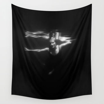 Underwater Dreaming Wall Tapestry by Nicklas Gustafsson