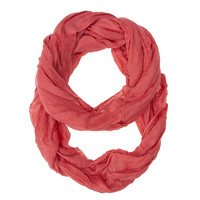 Coral Genevieve Infinity Scarf | Fashion Accessories » Jewelvogue