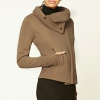 Zip Funnel-Neck Jacket