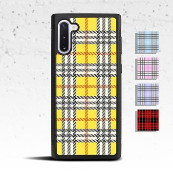 Plaid Phone Case for Samsung Galaxy S & Note