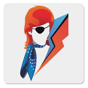 "The Glam Rebel 4x4"" Square Sticker"