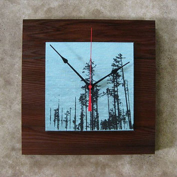 Into the Forest Clock, Eco Friendly
