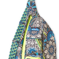 Monogrammed Kavu Rope Bags - Hodge Podge - Great gift for College, Teens, Women, Outdoors Satchel Crossbody Tote