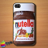 Nutella Jar Spread Custom iPhone 4 or 4S Case Cover