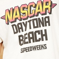 Junk Food Nascar Graphic Tee