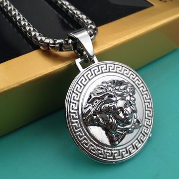Fashion Hip Hop Versace Necklace