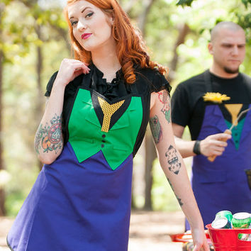 Batman Joker inspired apron