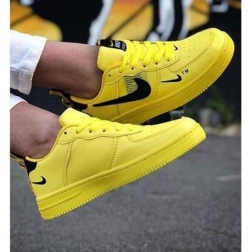 Nike Air Force 1 Fashion Women Men Casual Low-Top Sport Running Shoes Sneakers