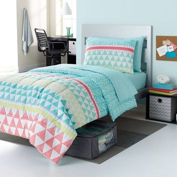 Simple by Design Elaina Tribal 8-pc. Reversible Dorm Bed Set - XL Twin