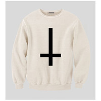 Upside down/ Inverted Cross Sweatshirt