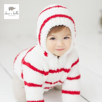 139db dave bella baby hoodies infant clothes toddle outerwear girls outerwear boys coat chenille jacket