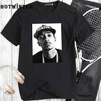 Fashion trend Nipsey Hussle printed casual loose short-sleeved t-shirt male