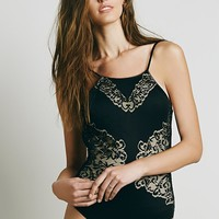 Free People Pear Blossom Bodysuit