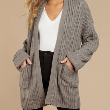 New mid-length cardigan loose large size sweater