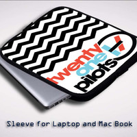 twenty one pilots logo X0393 Sleeve for Laptop, Macbook Pro, Macbook Air (Twin Sides)
