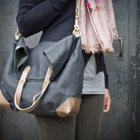 Fold-Over City Tote