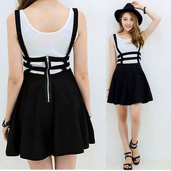 Kawaii Suspender Skirt