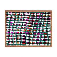 Sarah Bagshaw Wobbly Grid Rectangular Tray