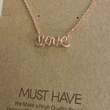Must Have Love Necklace