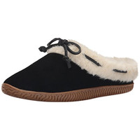 Sperry Womens Bree Mae Faux Fur Slip On Moccasin Slippers
