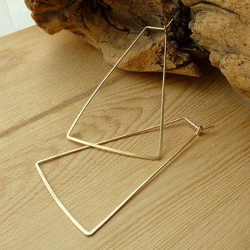Trapezoid Hoops - 3""