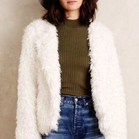 Sanctuary Denali Faux-Fur Jacket in Ivory Size: