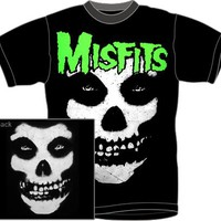 The Misfits T-Shirt - Jurek Skull Glow