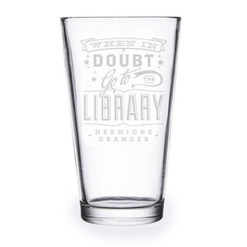 When In Doubt Pint Glass