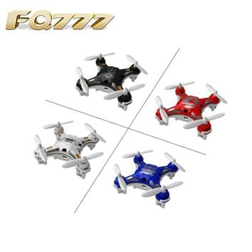 FQ777-124 Pocket Drone 4CH 6Axis Gyro Quadcopter With Switchable Controller RTF Remote Control Helicopter Toys Gift For Children